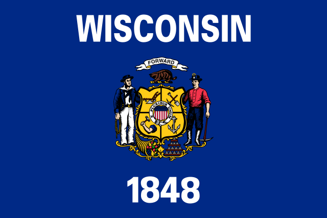 winsonsin state flag